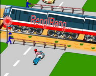 Điều 23. Đi trên đoạn đường bộ giao cắt đường sắt