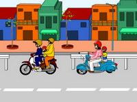 Điều 28: Người điều khiển, người ngồi trên xe mô tô, xe gắn máy