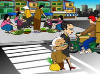 Điều 31: Người tàn tật, người già yếu tham gia giao thông