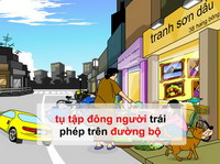Điều 33: Các hoạt động khác trên đường bộ